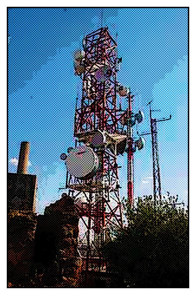 Instalación Antena San Servan Indesat